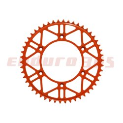 Kettenrad Stahl Light Edition 48 Zähne orange KTM EXC SXF LC4 125 250 300 350 380 400 450 500 525 530 620 625 640 690